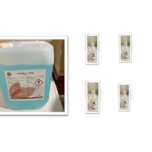 limpiador higienizante virucida
