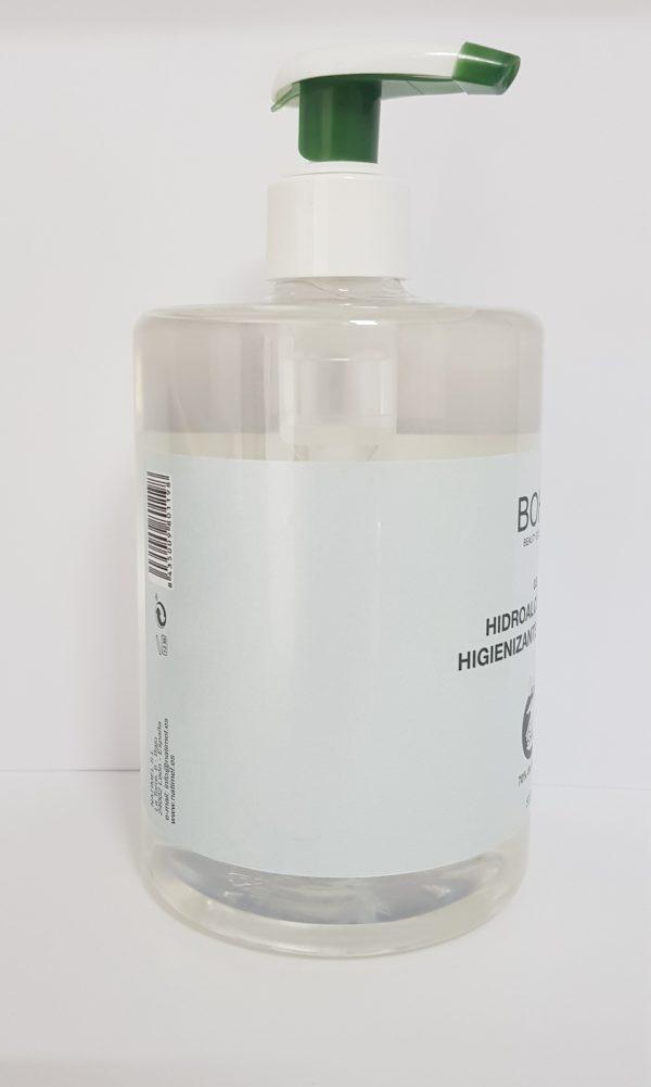 Gel hidroalcohólico con dosificador para administraciones de fincas