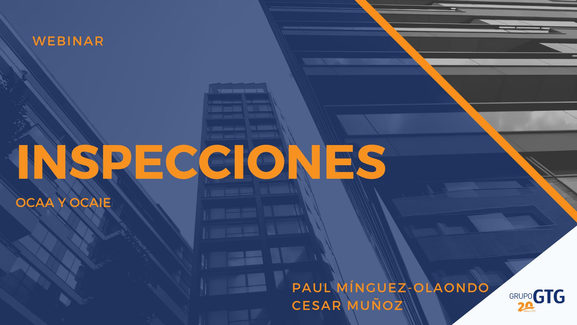 INSPECCIONES OCAA/OCAIE
